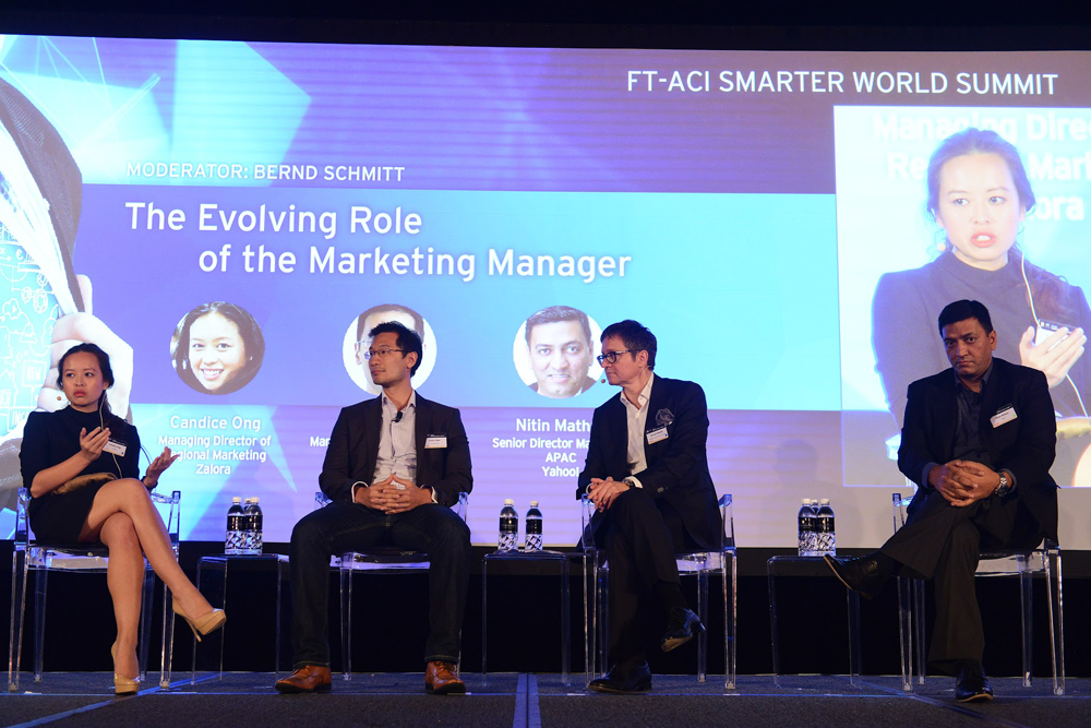 Panel The evolving role of the marketing manager